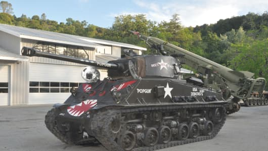 Lot 5001- M4A2(76)HVSS Sherman.